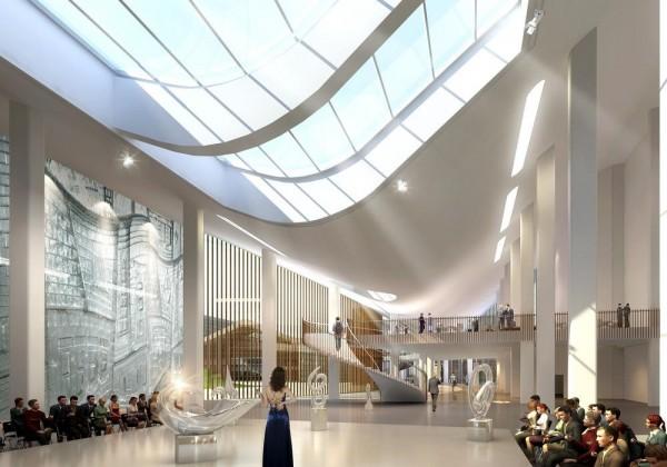Exhibition Area and Auction Hall, Image Courtesy © Hui Jun Wang, Yuan-Sheng Chen, Florian Pucher, Milan Svatek, Christian Junge