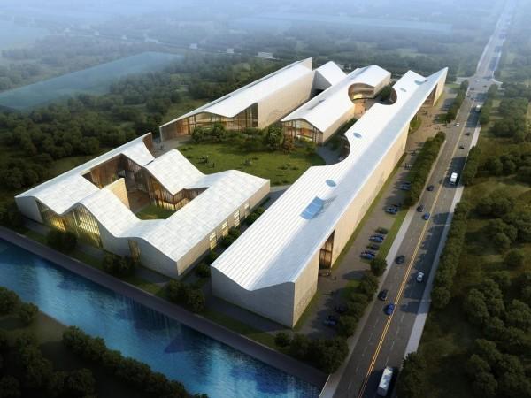 Aerial View from South, Image Courtesy © Hui Jun Wang, Yuan-Sheng Chen, Florian Pucher, Milan Svatek, Christian Junge