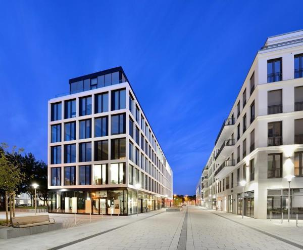 Belsenpark offices in dusseldorf oberkassel germany by slapa - Architekten in dusseldorf ...