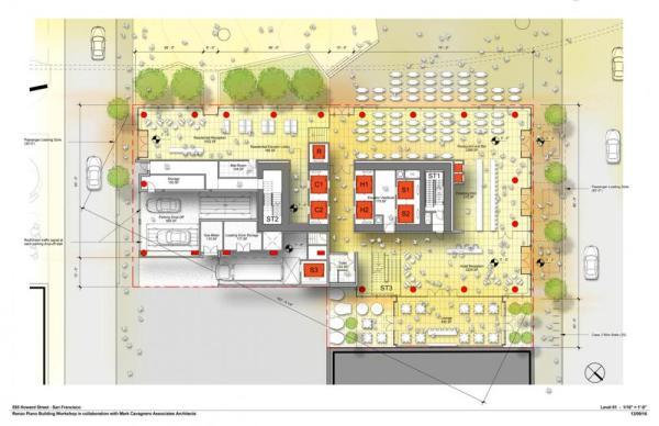 555 Howard In San Francisco California By Renzo Piano