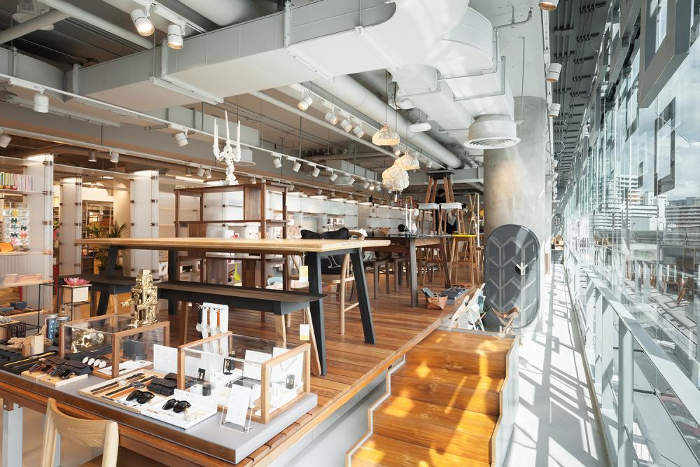 Room Concept Store Siam Discovery Location Bangkok Thailand Image Courtesy Maincourse Architect
