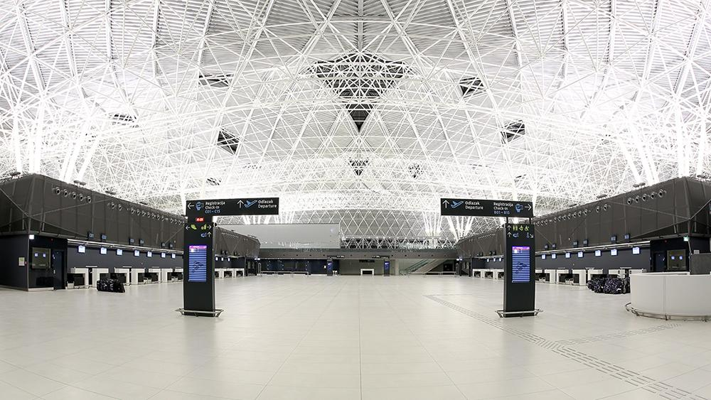 New Passenger Terminal At Franjo Tudman International Airport