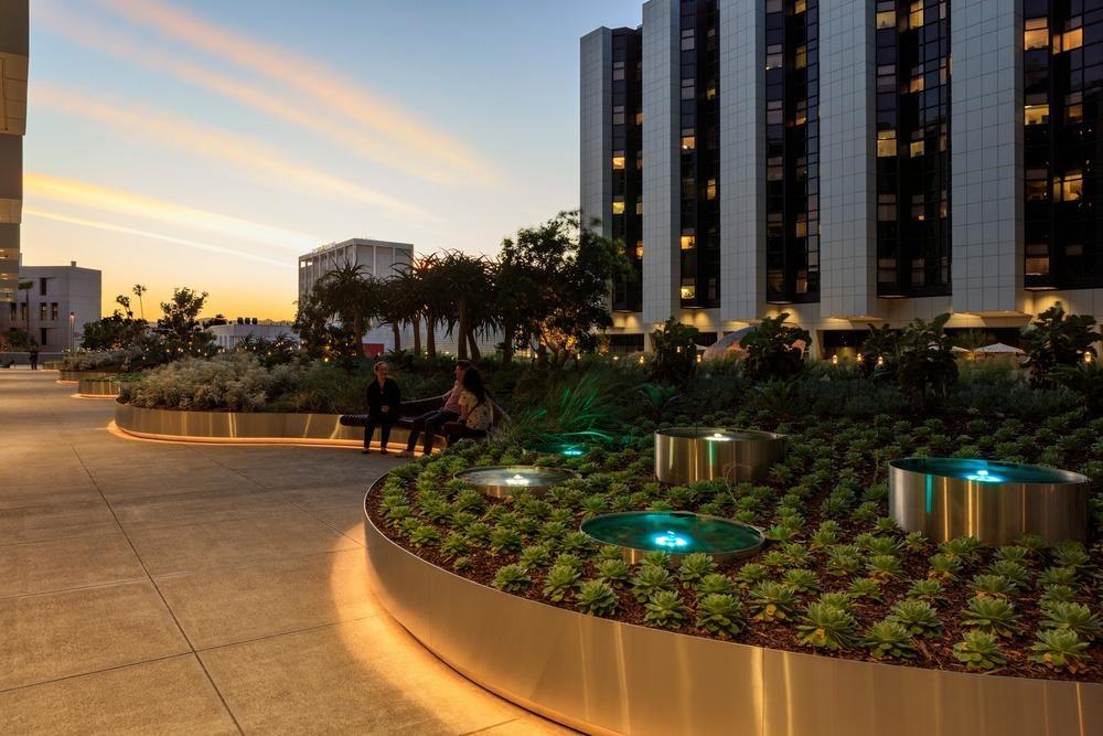 Healing Gardens for Cedars-Sinai Medical Center in Los Angeles,