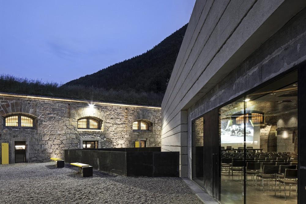 Neue Architektur In Südtirol 2006 2012: Fortress Franzensfeste In Bozen, Italy By Markus Scherer