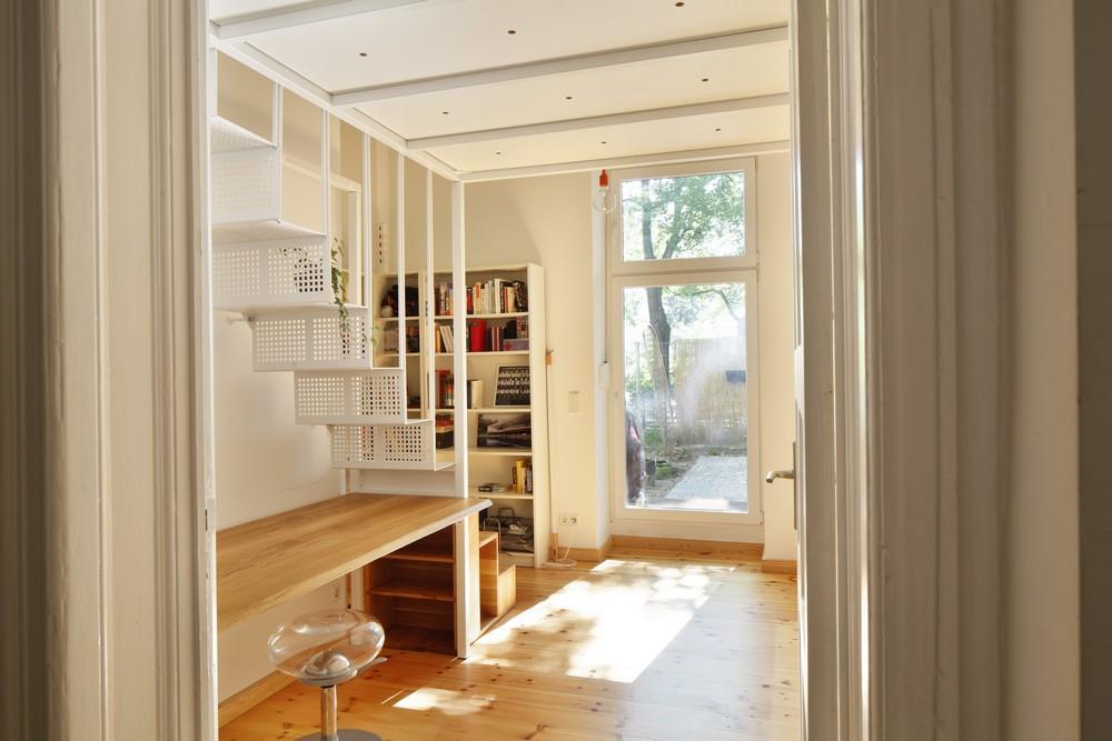 Mezzanine For a Small Bedroom in A Private Apartment in Berlin,