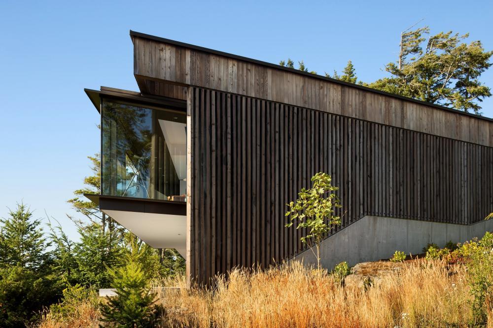 Okada Marshall House in Sooke, Canada by D'Arcy Jones