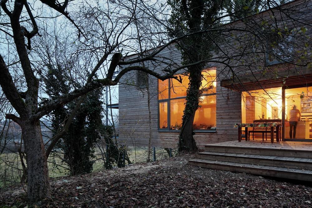 Ordinaire AECCafe: Treehouse In Steyr, Austria By Mia2/ARCHITEKTUR ZT KG