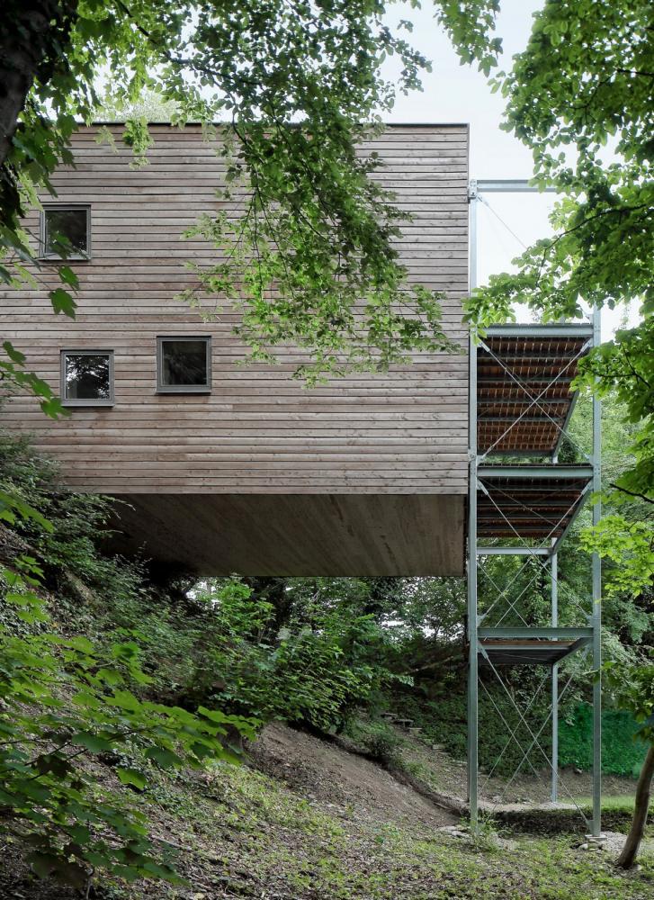 AECCafe: Treehouse In Steyr, Austria By Mia2/ARCHITEKTUR ZT KG