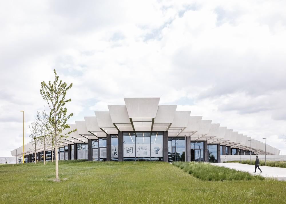 Janice hipocresía entrenador  Adidas Corporate Headquarters in Herzogenaurach, Germany by COBE