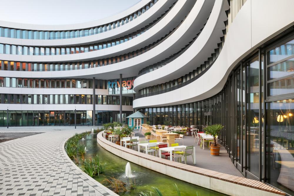 Trivago Headquarters In Dusseldorf Germany By Slapa Oberholz