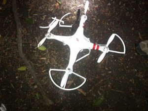 The drone that crashed at the White House