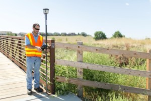 Survey Trimble R2 TSC3 Bridge Inspection