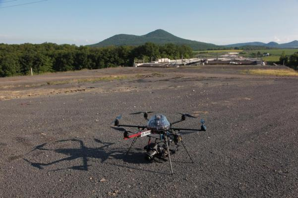 Unmanned aerial vehicle own made UPVISION