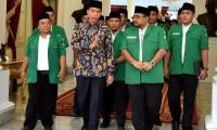 Bertemu Presiden Jokowi, GP Ansor Laporkan Kelompok Radikal Yang Terkonsolidasi Jelang Pilpres
