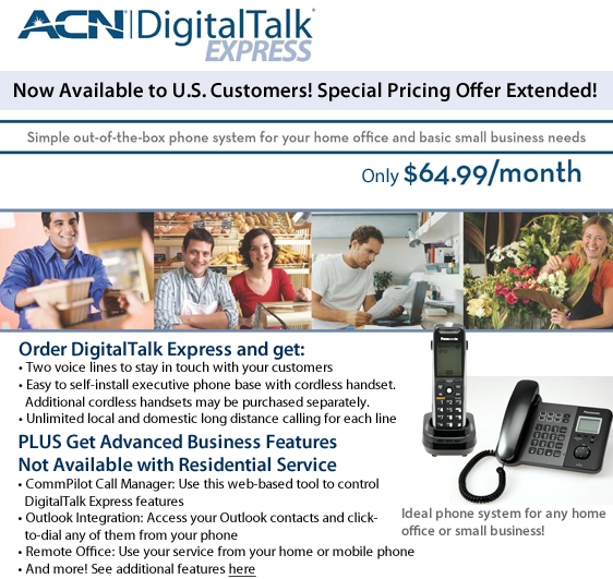 DigitalTalk Express Customer Launch