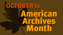 Archives Month from SAA