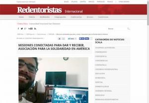 Noticia sobre el Café-Encuentro de AS Madrid-San Gerardo en Scala News