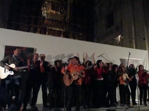 Una de las actuaciones del Recital Misionero