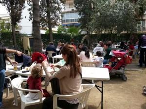 Jornada solidaria en la Delegación de Sevilla