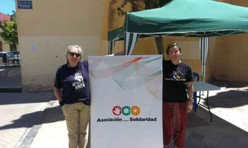 Voluntarias de AS en el Día de África