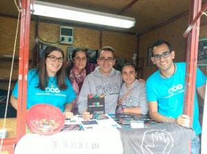 El equipo de AS Mérida en el Encuentro para la Solidaridad