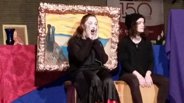 'El Grito' de Edvard Munch en el Concierto de las Velas de Santísimo Redentor.