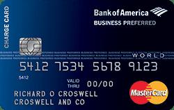 Bank of america business card infocard secured business credit card bank of america reheart Choice Image