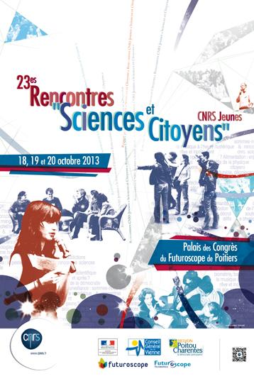 Affiche Sciences&citoyens2013