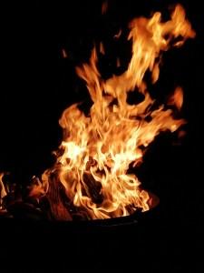 Kartoffelfeuer