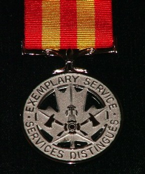 Fire Services Exemplary Service Medal Federal Province Of British Columbia