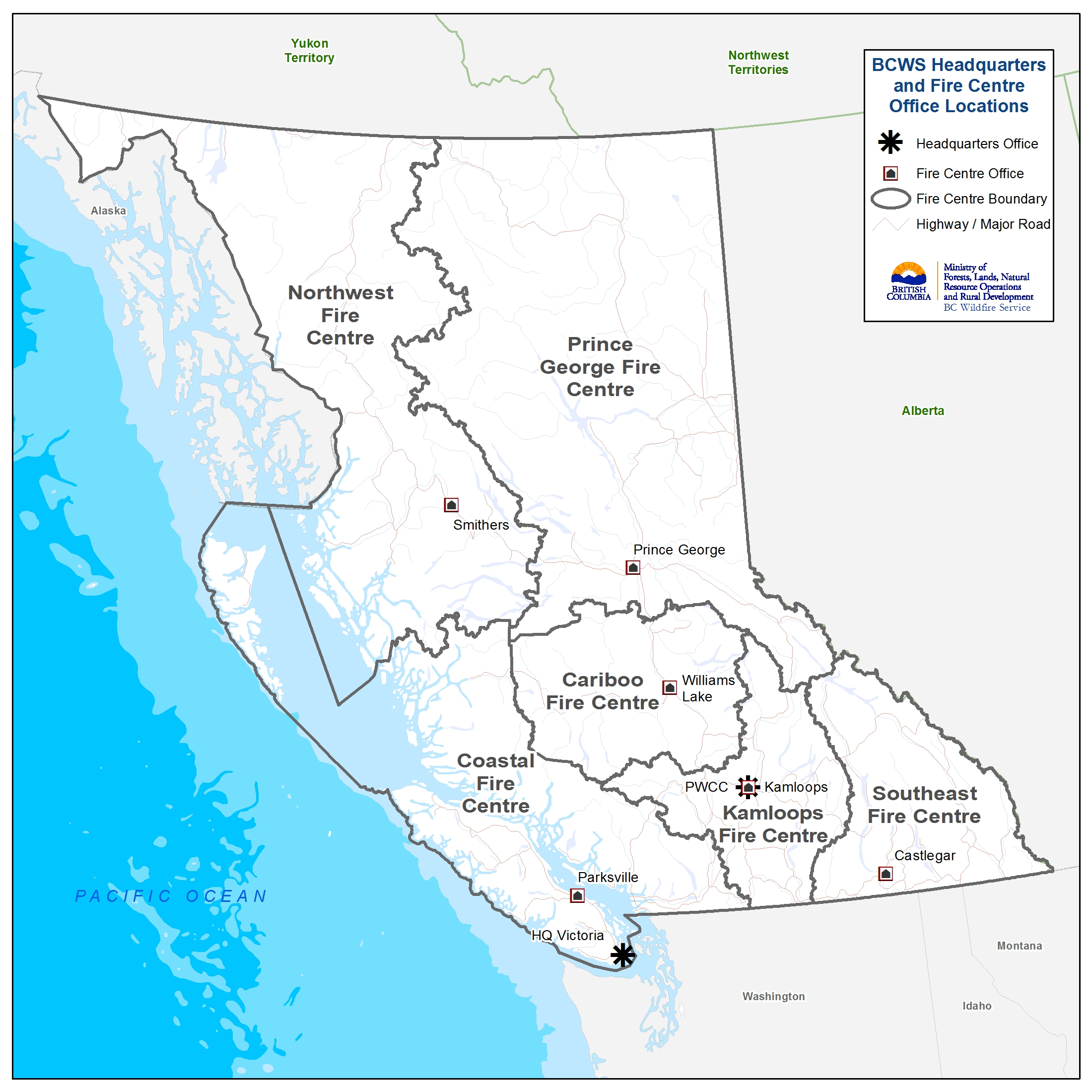 British columbia's wildfire danger map shows a low to moderate fire risk in much of the province after a rainy weekend, but the extreme risk. Current Wildfire Activity Province Of British Columbia