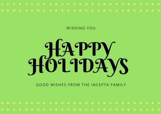 Happy Holidays from Incepta Family
