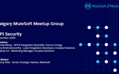 API Security Best Practices – MuleSoft Meetup