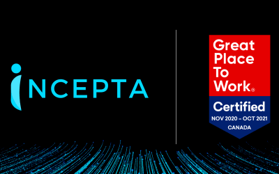 Incepta Solutions Certified as a Great Place to Work®