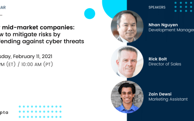 For mid-market companies: How to mitigate risks by defending against cyber threats