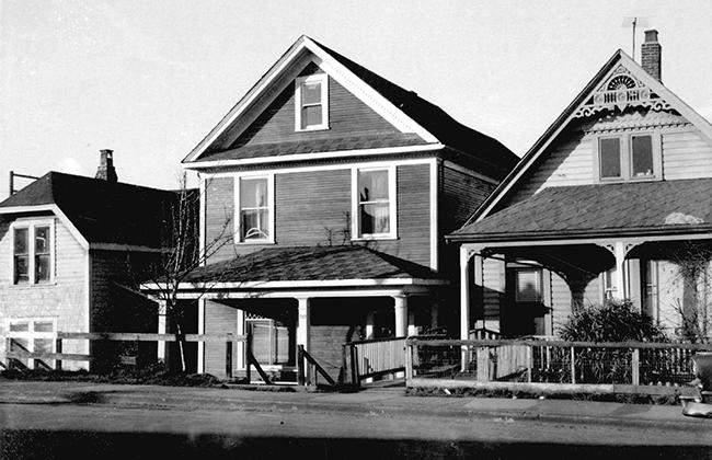 Strathcona houses