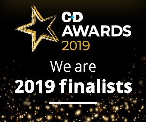 C&D Awards - we are finalists