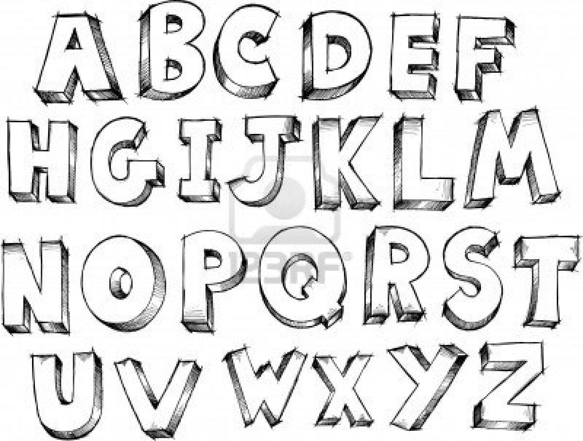 Cholo Handwriting Alphabet