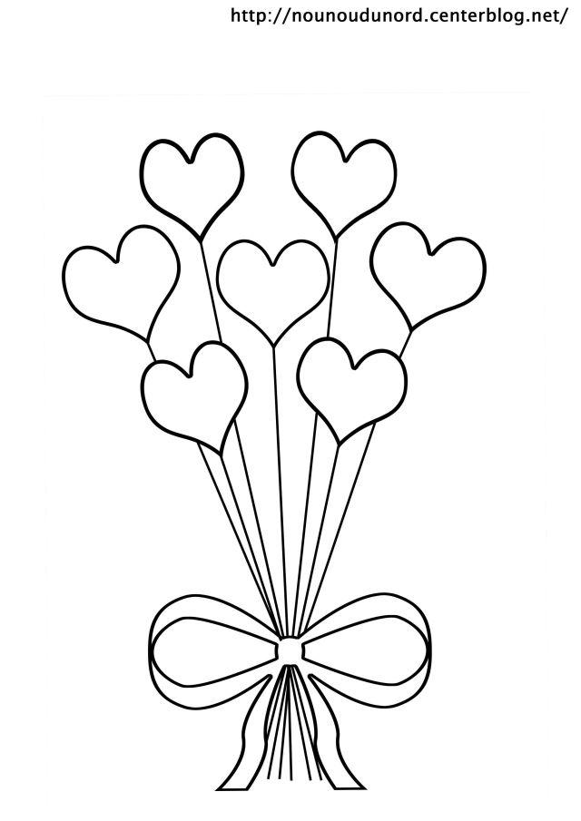 Coloriages à imprimer : Coeur, numéro : 28