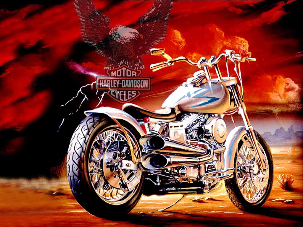 Dessins En Couleurs Imprimer Harley Davidson Numro