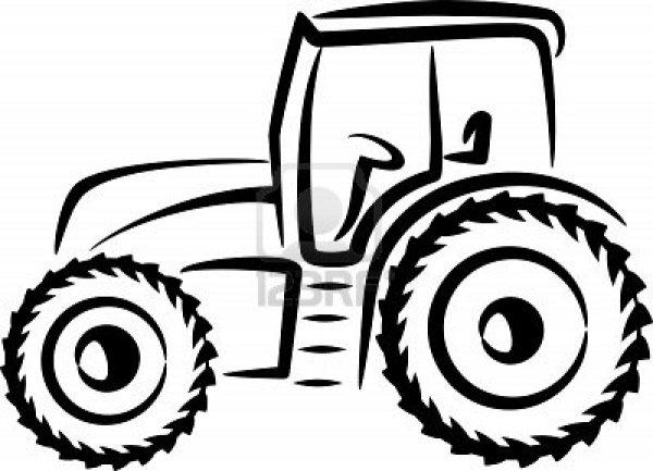 Coloriages 224 imprimer Tracteur num233ro 16985