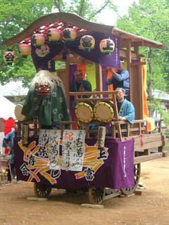 入間郡とその近郊の祭り囃子(三芳町上富初代山車編)