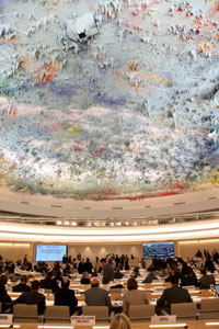 The Human Rights Council in session