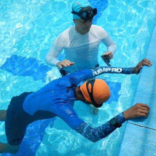 PADI - Freediver - Freediver Instructor - Pool