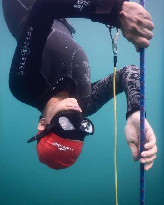 Aurovici Sercomanens - PADI Freediver Instructor