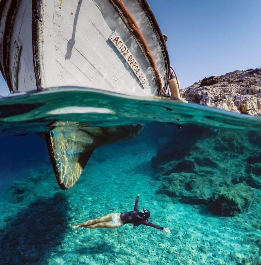 GoPro PADI scuba diving