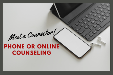 Meet a Counselor Phone or Online Counseling