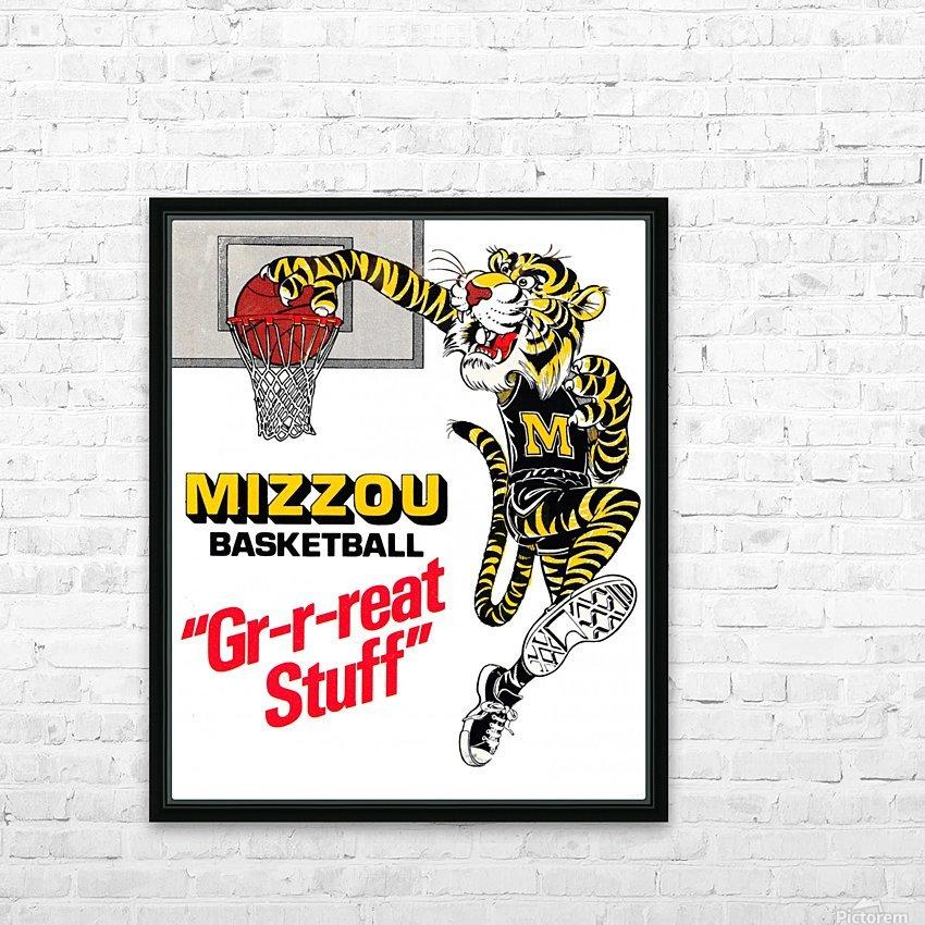 1982 missouri tigers basketball poster