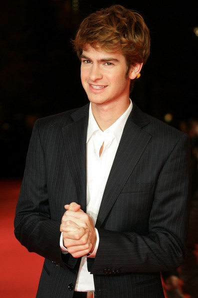 Actor Andrew Garfield arrives to the German premiere to 'Lions for Lambs' at the Kino International October 24, 2007 in Berlin, Germany.