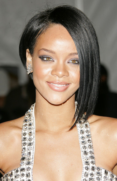 Asymmetrical haircut (thanks Rihanna)